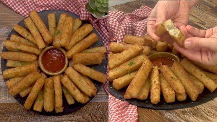Bastoncini di patate fritti: la ricetta semplice per la gioia dei più piccoli!