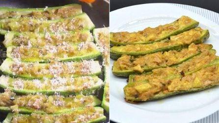 Zucchine ripiene cotte in padella: la ricetta del contorno davvero gustoso