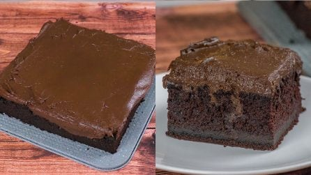 Vegan cake: very simple to preparare and very delicious!
