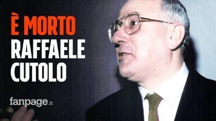 """Morto Raffaele Cutolo, il boss """"professore"""" di Ottaviano fondatore della Nuova Camorra Organizzata"""