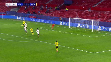 Siviglia-Borussia Dortmund 2-3, gol e highlights nel segno di Haaland