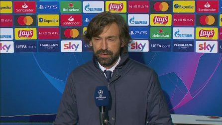 """Champions, Pirlo: """"Approccio sbagliato dopo il primo minuto"""""""