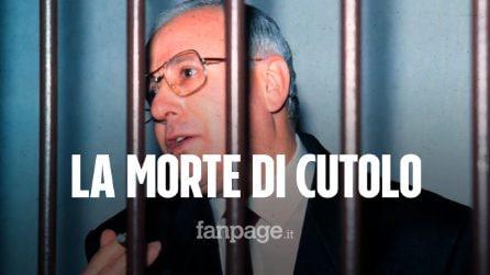 """Morto il boss Raffaele Cutolo: """"Pesava 40 chili, ultima istanza per scarcerazione martedì"""""""