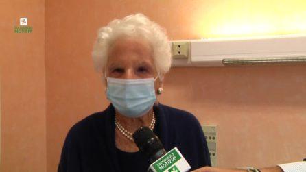 """Liliana Segre tra i primi over 80 vaccinati: """"Noi nonni non dobbiamo avere paura di farlo"""""""