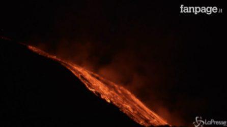Nuova eruzione nella notte: l'Etna non si ferma