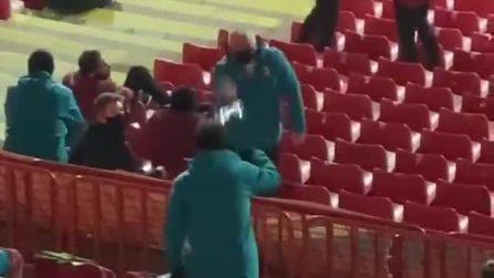 Gli insulti di natura etnica a Zlatan Ibrahimovic durante Stella Rossa-Milan