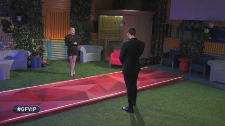 Grande Fratello VIP - L'incontro tra Andrea Zenga e Alessia Zelletta