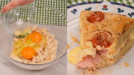 Stale bread cake: a great idea to reuse the bread you have at home!