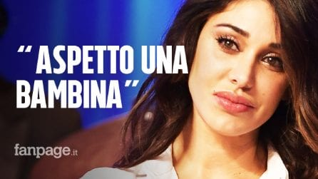 """Belen Rodriguez conferma la gravidanza: """"Aspetto una bambina, sono al quinto mese"""""""