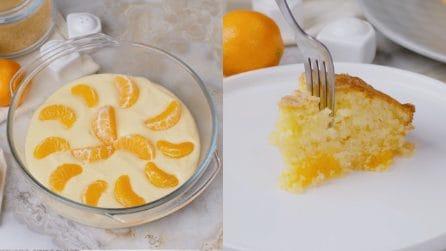 Torta soffice al mandarino: umida e dal gusto delicato!