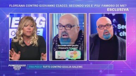 """Pomeriggio Cinqu, La furia di Floriana Secondi: """"Mi hanno esclusa per far andare te Ciacci"""""""