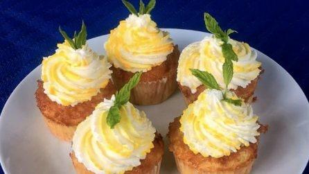 Cupcakes alla banana: la ricetta del dessert soffice e goloso