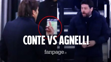 Juventus-Inter, cosa è successo tra Conte e Agnelli: dito medio e insulti a fine partita