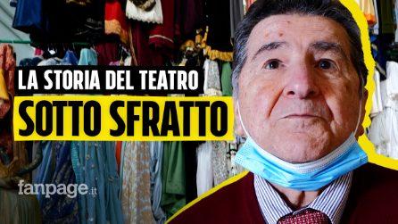 La storica sartoria teatrale Canzanella di Napoli a rischio chiusura: Teatri chiusi, siamo disperati