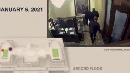 Impeachment Trump, in un video inedito la fuga di Mike Pence dal Campidoglio il 6 gennaio