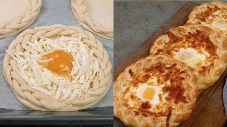 Rustico con uovo occhio di bue: buono per una cena alternativa!