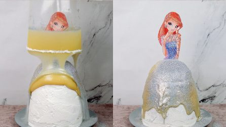 Princess pull me up cake: the best birthday cake ever!