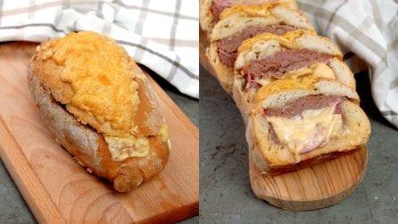 Pagnotta di pane farcita: come utilizzare il pane per una ricetta piena di gusto!