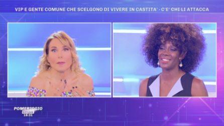 """Sylvie Lubamba smentita in diretta, D'Urso: """"Alessandro de Le Iene nega tutto"""""""