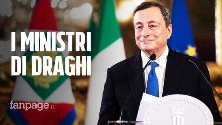 Governo Draghi, ecco la lista di tutti i ministri che andranno a formare il nuovo esecutivo