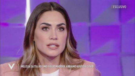 """Verissimo - Melissa Satta: """"Io e mio figlio Maddox abbiamo avuto il Covid"""""""