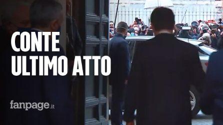 """L'ultimo giorno di Conte a Chigi. Ex premier a Fanpage.it: """"Grande esperienza, non ho rammarichi"""""""