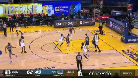 NBA Highlights: Golden State-Brooklyn 117-134