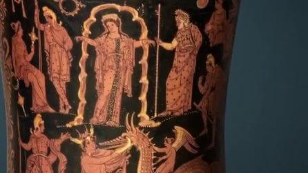 Il video del museo di Taranto per san Valentino racconta l'amore tra Perseo e Andromeda