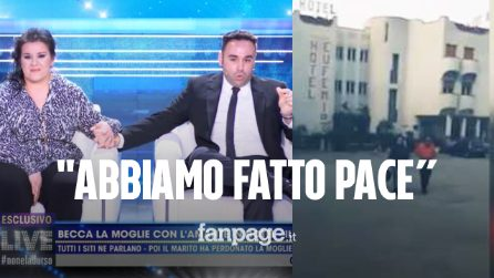 """La coppia dell'Hotel Eufemia, Gianluca e Grazia hanno fatto pace: """"L'ho perdonata, è vero amore"""""""