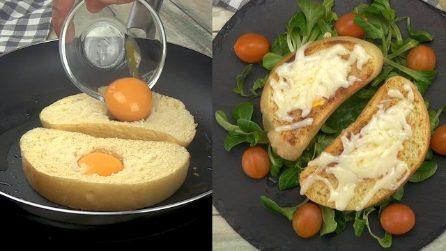 Bruschetta all'uovo: la ricetta tanto semplice quanto originale!