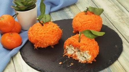 Mandarini di tonno e formaggio: la ricetta originale per stuzzicare i tuoi ospiti!