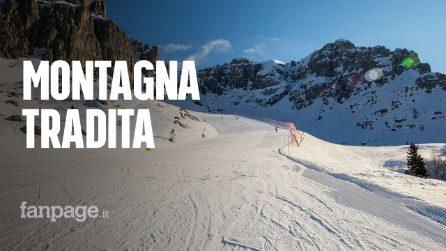 """Stop allo sci, lo sfogo di chi lavora in montagna: """"Non è una bella presentazione del nuovo governo"""""""