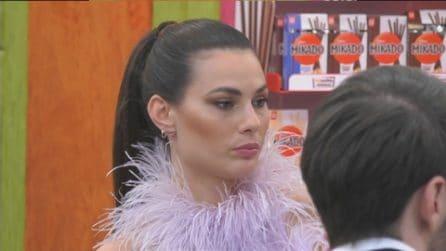 """Grande Fratello VIP - Dayane Mello a Rosalinda: """"Posso aspettarmi la tua nomination"""""""