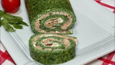 Rotolo di spinaci ripieno: la ricetta del secondo piatto davvero saporito