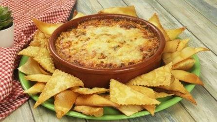 Chips di pasta: l'idea sfiziosa per una cena in compagnia!