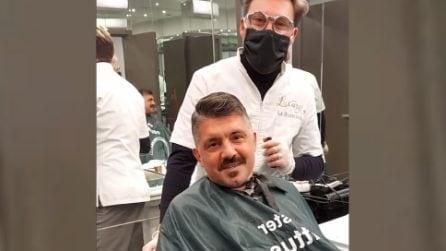 """Gattuso torna dal barbiere che """"parla troppo"""": """"Non si può scherzare qui, avevo fatto solo una battuta"""""""