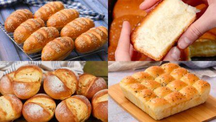 Ecco 4 modi per fare i panini al latte soffici e fragranti!