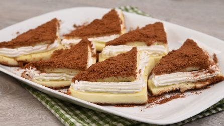 Creamy triangles: the result will surprise the whole family!