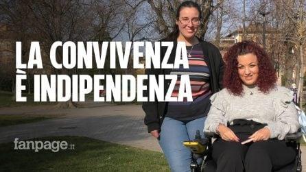 Amiche sotto lo stesso tetto: Elena e la sua indipendenza con Margherita, nonostante la disabilità