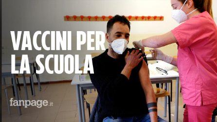 """Vaccinati a Procida e Ischia quasi 1200 operatori scolastici: """"Scuola è importante in presenza"""""""