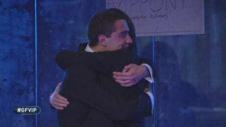 Francesco Oppini riabbraccia Tommaso Zorzi, lacrime al GF Vip