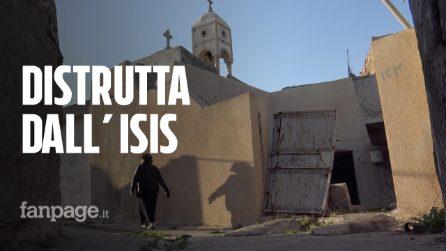 """Iraq, viaggio nel villaggio dei cristiani distrutto dall'Isis: """"Aspettiamo l'arrivo del Papa"""""""