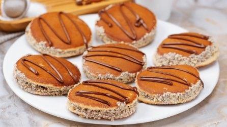 Pancake ripieni di cioccolato: l'idea simpatica e veloce, per una merenda speciale!