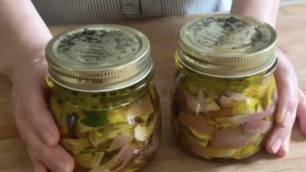 Carciofini sott'olio: la ricetta per averli davvero saporiti