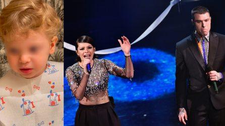 """""""Stanno cantando mamma e papà"""": Leone """"confonde"""" la voce di Chiara con quella di Francesca Michielin"""