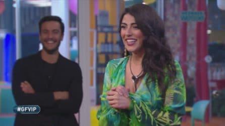 Grande Fratello Vip - Giulia Salemi incontra suo padre Mario, lui chiede di Tommaso Zorzi