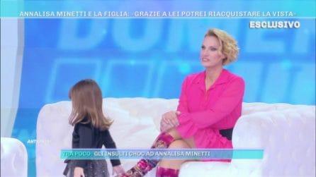 Domenica Live - Annalisa Minetti e la figlia: grazie a lei potrei riacquistare la vista