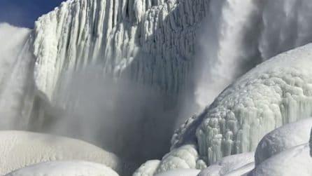 Cascate del Niagara ghiacciate: che spettacolo!