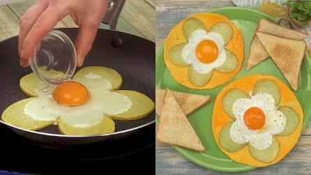 Fiori di uova: l'idea divertente per una cena sfiziosa!