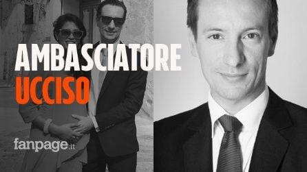 L'ambasciatore italiano Luca Attanasio ucciso in un attacco contro un convoglio dell'ONU in Congo